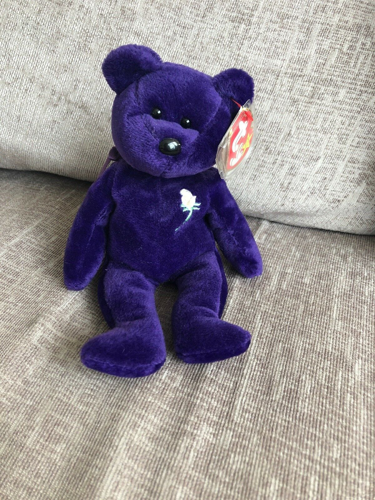 Ty Beanie Baby Babies 'Princess'  1997 Princess Diana Memorial Fund Bear