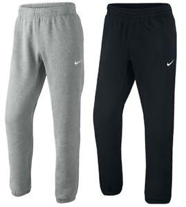 aa0e9d61c0fa3c Image is loading New-Mens-Nike-Fleece-Joggers-Tracksuit-Bottoms-Track-