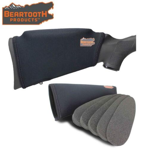 Beartooth Pettine Sollevamento Kit 2.0 Shotgun Fucile Butt Stock Nero nessuna Loops modello