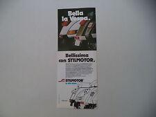 advertising Pubblicità 1983 VESPA e STILMOTOR