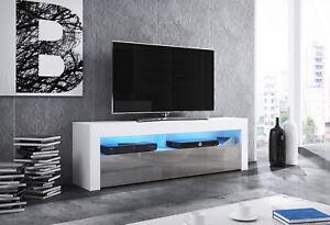 Modern White Tv Unit 160 Cm Stand