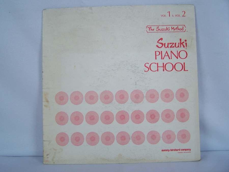 Suzuki Piano School Volumes 1 & 2 William Aide LP Album