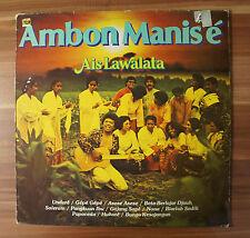 """12"""" LP Vinyl Ambon Manisé Ais Lawalata von Palm Club 71981PC SELTEN RAR"""