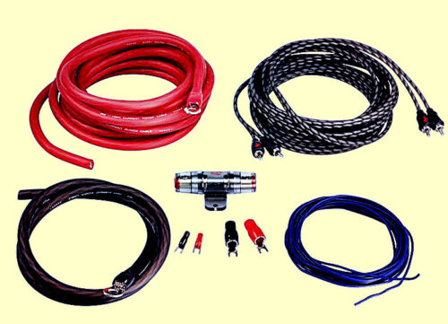 ACV lk-20 coche kabelset 20mm² kabelkit cable set para etapa final amplificador New