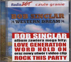BOB-SINCLAR-WESTERN-DREAM-polish-edition-CD-sealed-from-Poland
