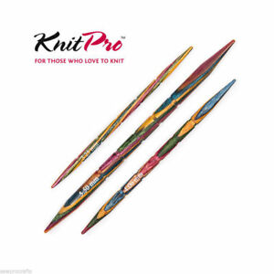 Details About Knitpro Symfonie Wood Cable Needles Set Of 3 325mm 4mm 55mm Knitting