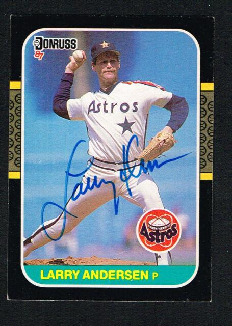 1987 Donruss Baseball Card 640 Larry Andersen