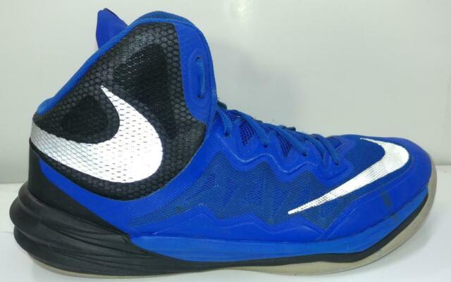 the latest 58b9a c78de Nike Prime Hype DF II Basketball Shoes Blue Black Grey 806941-401 Mens 13