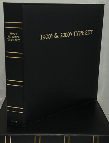 AIR-TITE CAPSULE KIT BLACK for 2298 CAPS 1900/'s /& 2000/'s Type Set Album