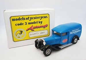Matchbox-Models-of-Yesteryear-1928-Bugatti-T44-Van-Code-3-Malcolm-Campbell