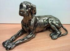 GUCCI Boutique Originale Made in Italy Cane scultura in metallo cm23 ULTRA RARO