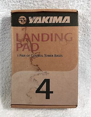 New YAKIMA Landing Pad 4 Control Tower Bases - 1 Pair
