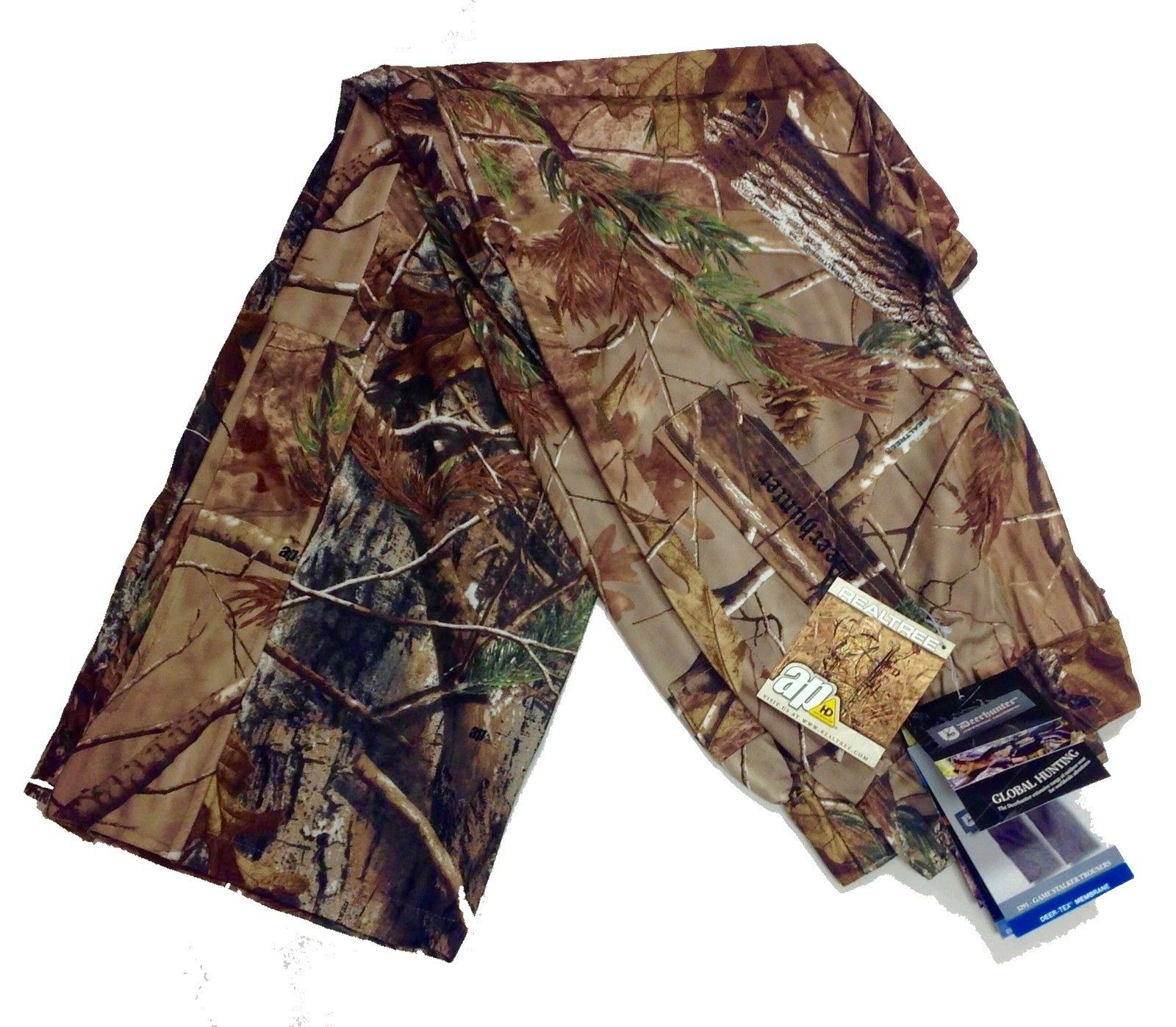Deerhunter Game Stalker Stretch Waterproof Trousers Camo Hunting Shooting