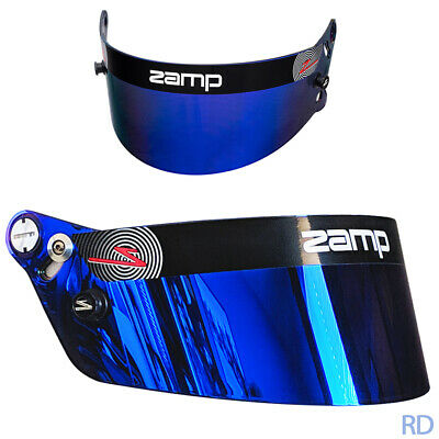 Zamp Z20 Blue Prizm Chrome Shield Helmet Visor Fits Rz