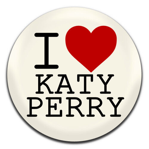 1 Inch D Pin Button Badge I Heart Katy Perry Pop Singer 25mm