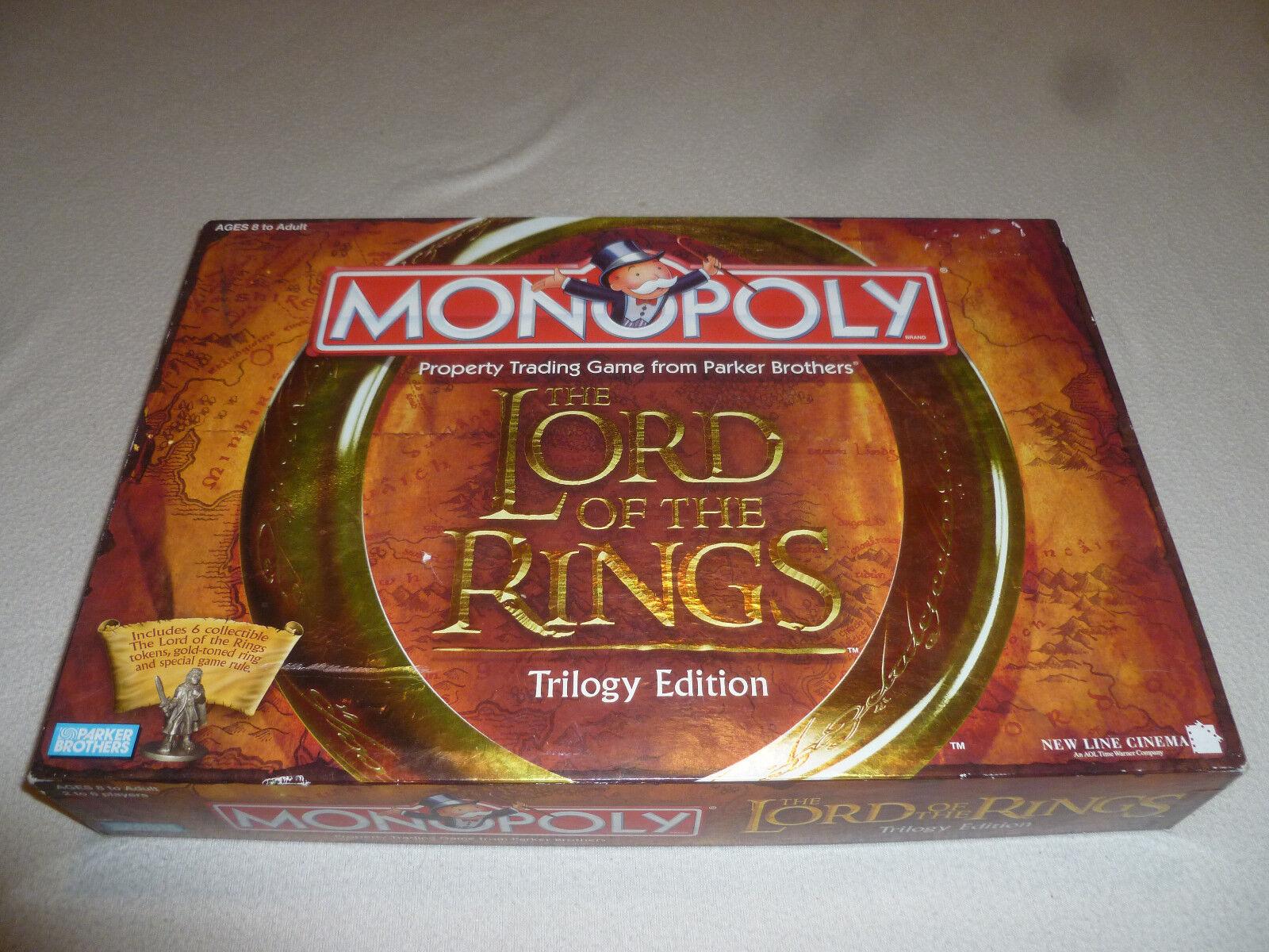Box - monopol  der herr der ringe  - trilogie ausgabe 2003 parker brothers spiel