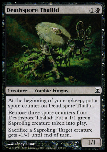 4 Deathspore Thallid ~ Near Mint Time Spiral 4x x4 Playset UltimateMTG Magic Bla