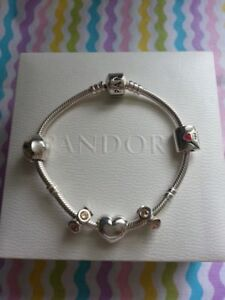 Image Is Loading Authentic Brand New Pandora Bracelet Love Collection With