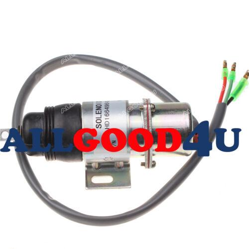 894453-3411 MV1-58 Stop Solenoid 12VDC 8-94453341-0 for Hitachi Isuzu Engine