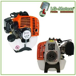 Motore-Ricambio-25-4cc-Decespugliatore-Rasaerba-Tosaerba-Potatore-4-in-1