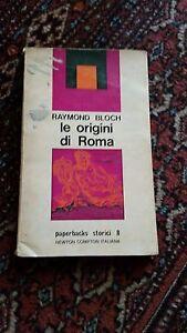 RAYMOND-BLOCH-LE-ORIGINI-DI-ROMA-NEWTON-1973