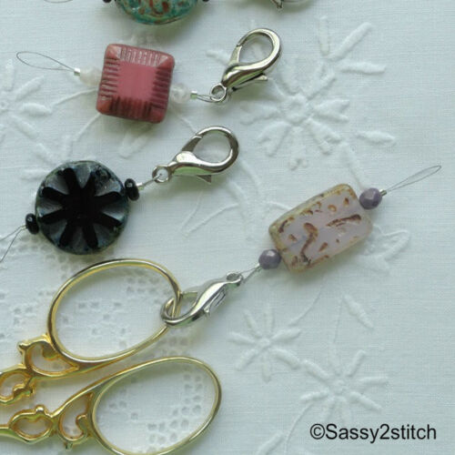 """/""""Needle Threaders/"""" with Lobster Claw Clasp"""