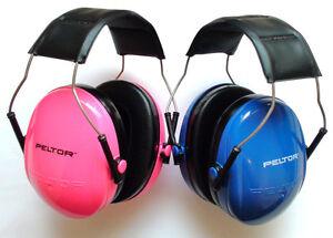 3M Peltor Kid Noise Reduction Earmuffs Headband Hearing Protection Ear Safety   eBay