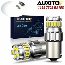 Super Bright 2x 1156 P21w 7506 Ba15s Led Backup Reverse Lights Bulbs 6500k White