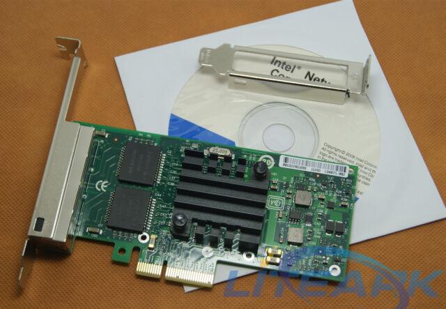 INTEL i350AM4 Gigabit 4 Port Network Server PCI-e Network Adapter 1000M