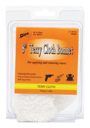 "Bonnet Terry Cloth 8/"" By Dico Mfrpartno 58443605"