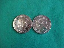 GUERNSEY 1999 Winston Churchill £5 POUND COIN BRILLIANT UNC. FREEPOST