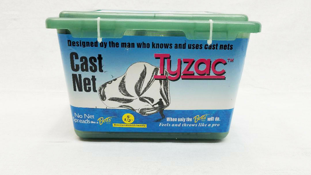 BETTS TYZAC 6' CAST NET, 1 2  MESH, 3  4LB WEIGHT PER FOOT, M6S-I  quality product