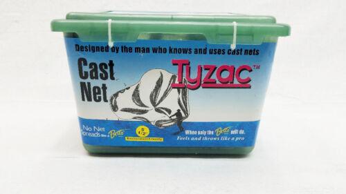 "BETTS TYZAC 5/' CAST NET 1//2/"" MESH M5S-I 3//4LB WEIGHT PER FOOT"