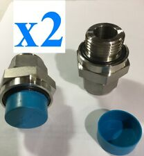 Swagelok SS-16-PST Stainless Steel Pipe Fitting 16-12 Hex Head Plug 1-5