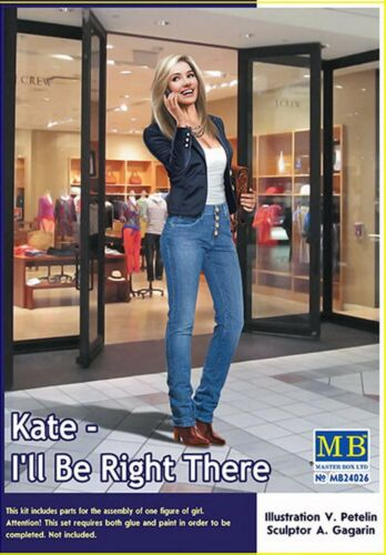 I/'ll Be Right There 1:24  plastic model kit Master Box 24026 Kate