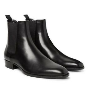Black Ankle Boots Men