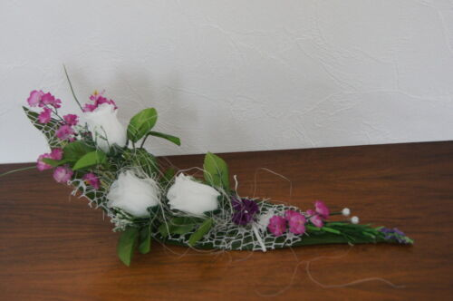 Tischdekoration Tischdeko Hochzeit Deko Kommunion Taufe Verlobung Rosen  K04
