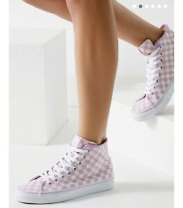 2d2e3c94e3 Image is loading Vans-Sk8-Hi-Decon-Checkerboard-Sneaker
