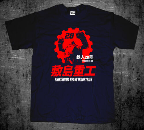 New Japan Retro Mecha Anime Gigantor Tetsujin 28go Shikishima Industries T-shirt