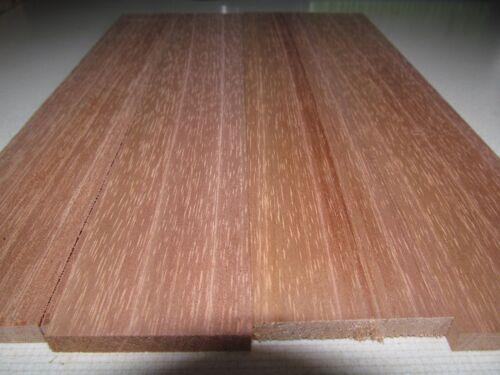 "Spanish Cedar Lumber  Lot of 4 boards  2/"" X 14/"" X 3//8/""  planed 4 sides"