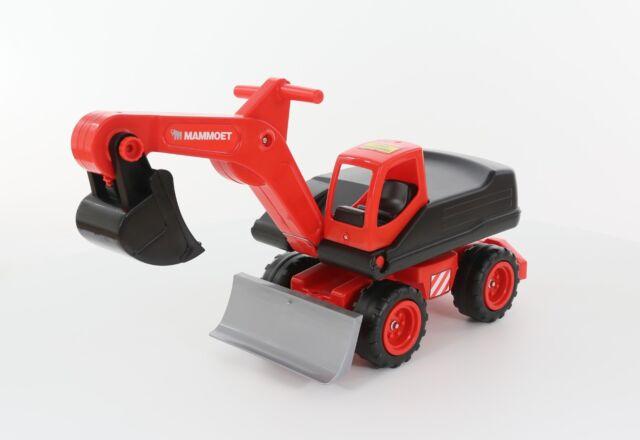Mammoet Bagger  Megabagger Schaufelbagger Kinder Sand Spielzeug Fahrzeug 56740