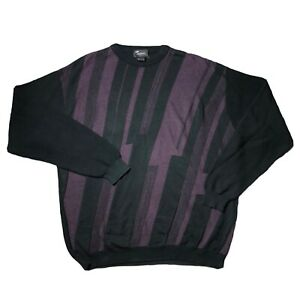 Vintage-90s-COOGI-Style-Pullover-2xlt-Hip-Hop-Biggie-abstrakte-Tosani