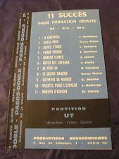 Partition 11 Successo per Formation ridotto Ut Paso Doble 1964