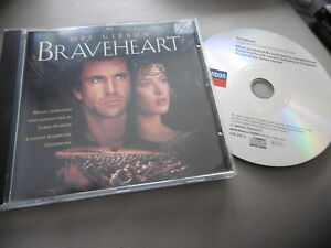 BRAVEHEART-ORIGINAL-SOUNDTRACK-CD-ALBUM-JAMES-HORNER-MEL-GIBSON