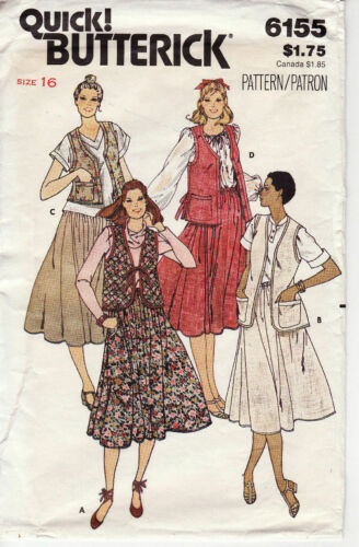 CUT//Complete SEPARATES Choose Yours! Many BUTTERICK Patterns