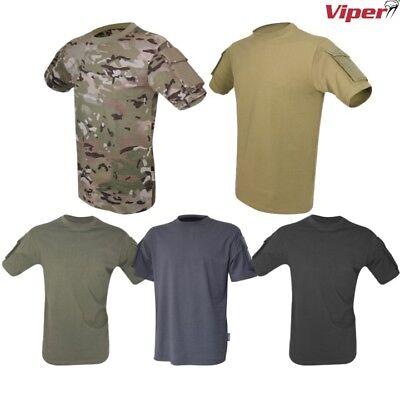 Viper Tactique Hommes T-Shirt V-Cam