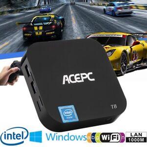Acepc T8 Mini Pc 100mbps Intel Z8350 Win 10 2gb Ram 32gb Rom Wi Fi
