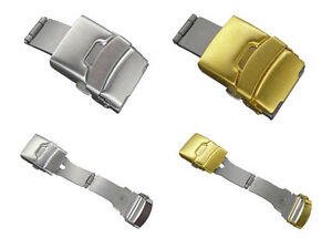 Deployment Clasp Buckle for Watch Band Strap 16mm 18mm 20mm 22mm 24mm - MM
