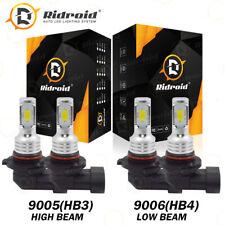 90059006 Led Combo Headlight Kit Cree Cob 160w Light Bulbs High Amplow Beam