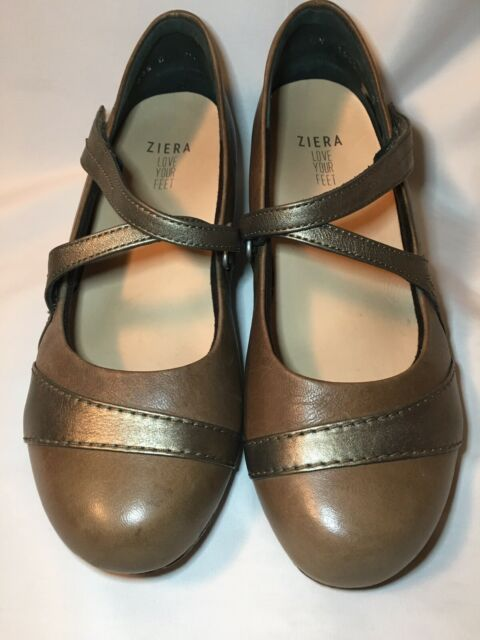 Ziera Super Support 38.5 XW Snare Mary Jane ballet flat